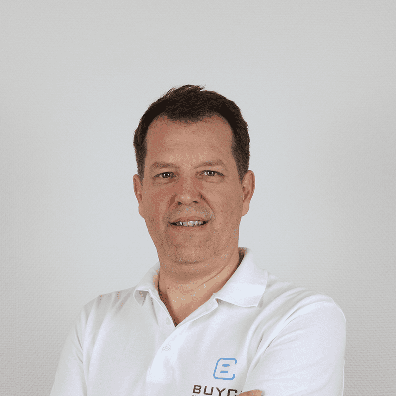 portait of benoit fichefeux, chief sales and operations officer within buyco team