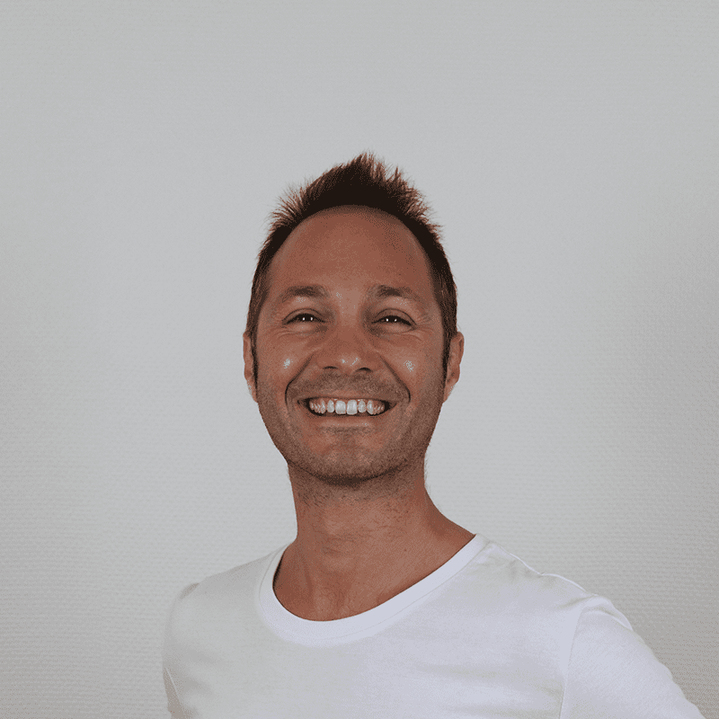portrait of joseph curto, marketing manager within buyco team